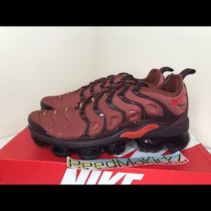 nike air vapormax plus habanero womens sizes